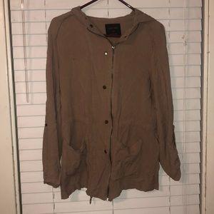 Jackets & Blazers - Tan jacket